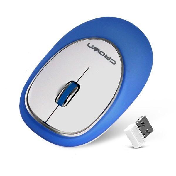 Мышь беспроводная Crown CMM-926W розовый USB