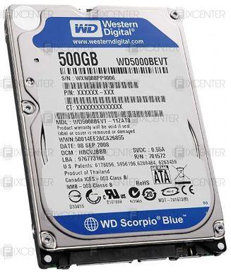 Жесткие диски 2.5 для ноутбуков