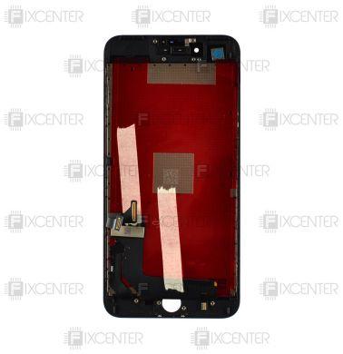 Дисплей (экран) iPhone 7 Plus с тачскрином в сборе, черный, копия высокого 308b451d226