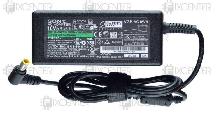 блоки питания для ноутбуков Sony